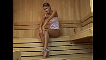 Pretty Teen Sauna Masturbation Session
