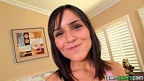 TeamSkeet Brazilian teen Camila Bella pussy lic...
