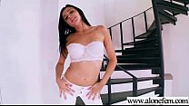 Dildo Sex Toys Use Amateur Girl To Masturbate clip-23