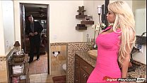 Bridgette B opens her pussy for a real estate agent