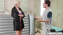 Step son massage - Nina Elle and Tyler Nixon's Thumb