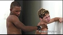 Two Hot Twink Interracial