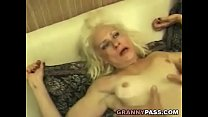 Squirting Granny Takes Rough Fucking video