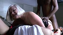 AgedLovE Lacey Starr Interracial Threesome preview image