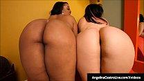 BBW Angelina Castro & Ebony Kristi Maxxx Show O...