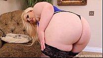 Sexy Pinup Plumper Klaudia Kelly Takes Some BBC Thumbnail