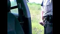 Policial batendo uma (police masturbating)