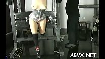 Extreme servitude video with gal obeying the dirty play