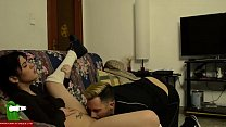 19809 Couple touching and masturbating on the sofa IV 071 preview