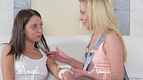 Young Lesbians Angel And Angie At Webyoung