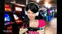 Chinese Gamer Girl Goes Topless