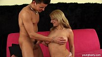 Young Lilian gets big tits fucked - 9Club.Top