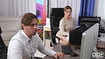 Cock Sucking At The Office Gives Busty Nikky Dr