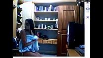 Monique Amin nua na Webcam