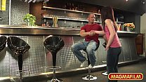 MAGMA FILM German Teen wants cock at the bar's Thumb