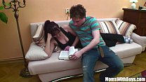 Freckle Bodied Mama Martina Doggystyle Couch Fu...