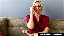 Dirty Talkin Milf Teacher Ms. Julia Ann Teaches...