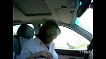 Sexy cheating cheating wife giving a blowjob in car - 9Club.Top