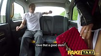 Fake Taxi Drivers big cock sucked and boyfriend fucked with facial finish thumbnail