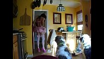 sissy feed the dogs thumbnail