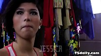 Busty tranny Jessica Versace