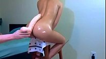 Phealinphine ass fucked by dildo - live webcams at http://twocamsup.com
