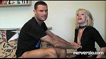 Slutty MILF eats cum after a hardcore