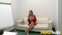 11810 Fake Agent Cute ass Russian with perfect tits takes big cock in casting preview