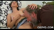 Grandpapa craves for young hole Vorschaubild