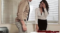 Gorgeous closeup officesex with Alexa Tomas