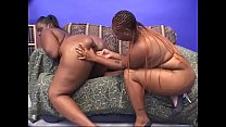 Black BBW divas Brownie Girl and Sweet Vanilla love a good pussy licking until they cum