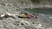 блогер встретил нудистку. Публичный минет на пляже в Болгарии. RoleplaysCouples | swathi naidu nipples thumbnail