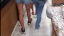 Teen Colombiana en Putishort con Culo Apretado thumbnail