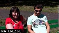 Polskie mamuśki - Księgowy rozlicza pita z grubą MILF