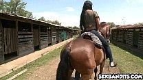 21 Sexy latina cowgirl riding cock 12 image