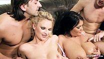 ▶▶ Two Hot MILF Moms Nuns with Big Boobs Talk t...