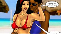 Savita Bhabhi Episode 33 - Sexy Summer Beach Thumbnail