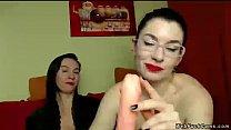 Milf lesbians playing with dildo on cam pornhub video