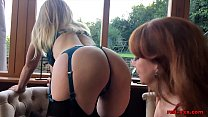 Red XXX and her sexy girlfriend play with sex toys缩略图
