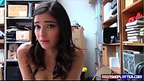 Security Guard has a Good Time in Tight Little Teen Shoplyfter Pussy thumbnail