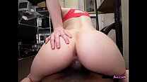 Chesty Hoe Norah Gold Sits On BBC Of Landlord