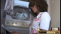 Dirty Ebony Whore Banged And Covered In Cum - Interracial 6 preview image