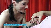 Czech amateur girl gives BJ, lapdance and pussy fuck صورة