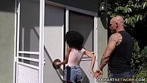 Petite ebony Ariana Aimes video
