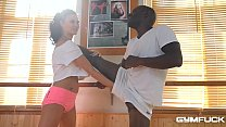 Ultra Fit nympho Jasmine Jae Fucked In Interracial Training Session - 9Club.Top