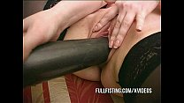 Cute Teen Pussy Insertions On The Couch