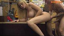 Big boobs blond babe drilled by pawn guy pornhub video