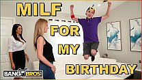 BANGBROS - Juan El Caballo Loco Gets Hot MILF Reagan Foxx For His Birthday Thumbnail