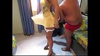 Mulher do corno namorando macho no motel