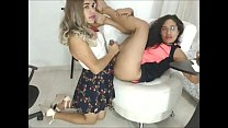Shemale on Shemale BJ & HJ - Live Cam